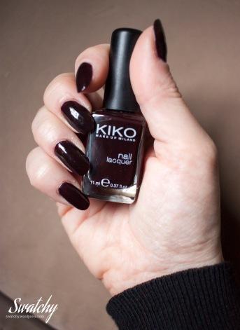 Kiko 227 dark rouge noir